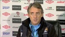 Manchester City v Norwich - Mancini on Arsenal win and losing Kolo and Yaya Toure to African nations