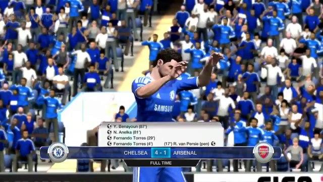 Chelsea vs Arsenal - Premier League Playthrough | Ginx TV on football