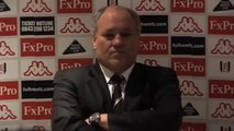 Fulham 2-1 Arsenal - Martin Jol on red card and victory | English Premier League