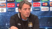 Man City 2-1 Villarreal | Mancini on a lot to learn in Europe | European Champions League 2011-12