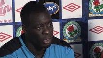 Blackburn v Arsenal | Chris Samba on Blackburn fan protests - English premier League 2011/12
