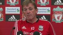 Liverpool vs Bolton - Kenny Dalglish on Bolton and transfer latest   English Premier League 2011-12