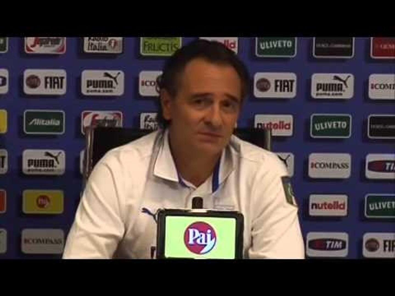 VIDEO Prandelli contro Balo:  'Ci tieni alla maglia azzurra'