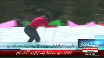 Women's ski day in Malam Jabba on the Snow Festival by sherin zada