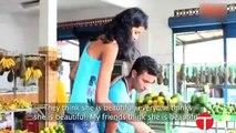 World's tallest teen model girl gets marriage Elisany da Cruz Silva