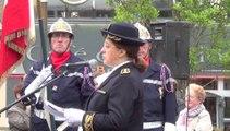 cérémonie de la Victoire du 8 mai 1945 à Avranches place Littré - jeudi 8 mai 2014
