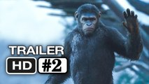El Amanecer del Planeta de los Simios-Trailer #2 en Español (HD) Gary Oldman