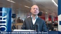 Bruxelles au centre de la campagne  : Bruno De Lille (Groen)
