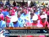 Recuerdan a Chávez haitianos egresados de universidades de Venezuela