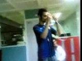Zaki boxe sur Wii Sports