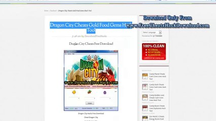 Dragon City Cheats No Survey Download 2014 Update Video Dailymotion