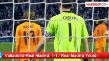 Valladolid-Real Madrid: 1-1 / Real Madrid Yıkıldı