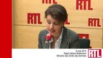 """VIDÉO - """"L'humanité toute entière est touchée au cœur par cet enlèvement"""" Najat Vallaud-Belkacem"""