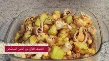 أطباق رمضان 2013_ طريقة عمل فتة باذنجان