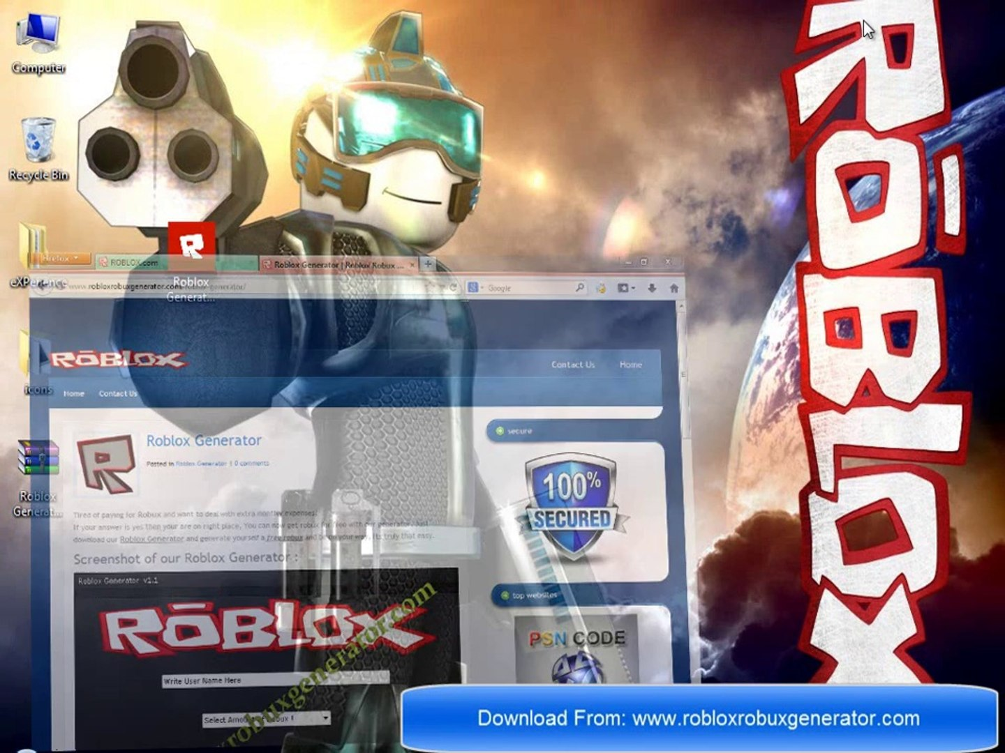 100 Working Roblox Generator With Proof Get Free Robux Now