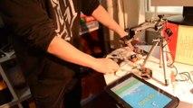 Un chinois fais joué un robot à Flappy Bird