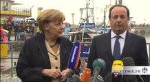 Point de presse avec Mme Angela MERKEL, Chancelière de la République fédérale d'Allemagne