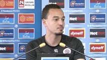 Karim Aït-Fana avant MHSC-SC Bastia (37ème journée)