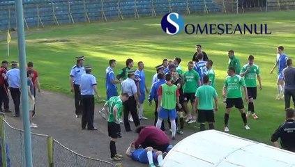 FOTBAL playout Unirea Dej - Sanatatea Cluj 2-1