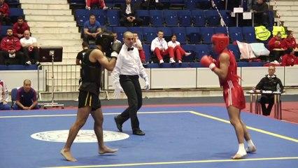 Thomas Nguyen VS Recep Ozcan - Championnat wushu sportif 2014 - Sanda -65