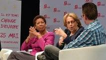 Rassemblement des Jeunes Socialistes Européens - Les Jeunes interpellent les ministres avec Marylise Lebrandu et George Pau-Langevin