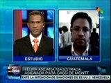 Conservadora Thelma Aldana, nueva fiscal general de Guatemala