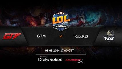 RoX.KIS vs GTM - game 3 (ENG)
