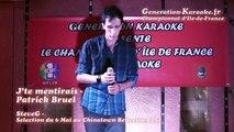 SteveG - Soirée de sélections du championnat d'île-de-France 2014 de karaoké au ChinaTown Belleville (Paris, 75) - Interprétation de SteveG