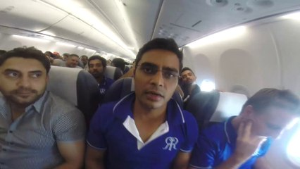 INFLIGHT MOVIE! Royals Messages from Bangalore Flight
