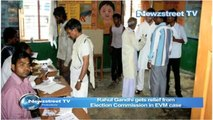 Rahul Gandhi gets relief from  Election Commission in EVM case