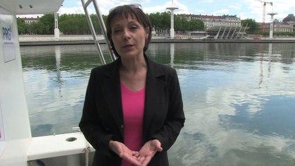 Brève de campagne : Sylvie GUILLAUME à Lyon