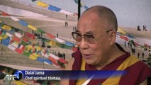 Arrivée du chef spirituel tibétain, le dalaï lama, aux Pays-Bas