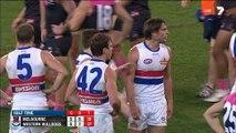 AFL 2014 - Round 8 - Melbourne v Western Bulldogs (2nd quarter)