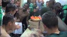 La joie des Verts après Nantes 1-3 ASSE