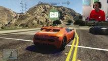 GTA 5 FUNNY MOMENTS - EPIC RACES, STUNTS IN GTA 5 ONLINE (GTA V)