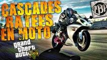 Cascades ratées en moto sur GTA V !