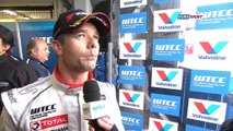 FIA WTCC - Interview: Loeb won round 7 - Slovakia 2014
