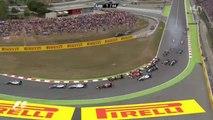 Départ du Grand prix d'Espagne 2014 de Formule 1