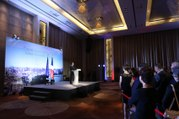 Discours devant le communauté française de Bakou, en République d'Azerbaïdjan