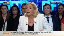BFM Politique: L'After RMC: Marine Le Pen répond aux questions de Véronique Jacquier - 11/05 6/6