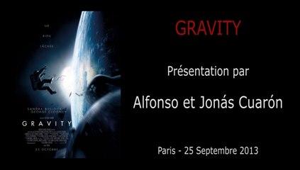 Avant-Première Paris - GRAVITY - Présentation du film par Alfonso et Jonas Cuaron