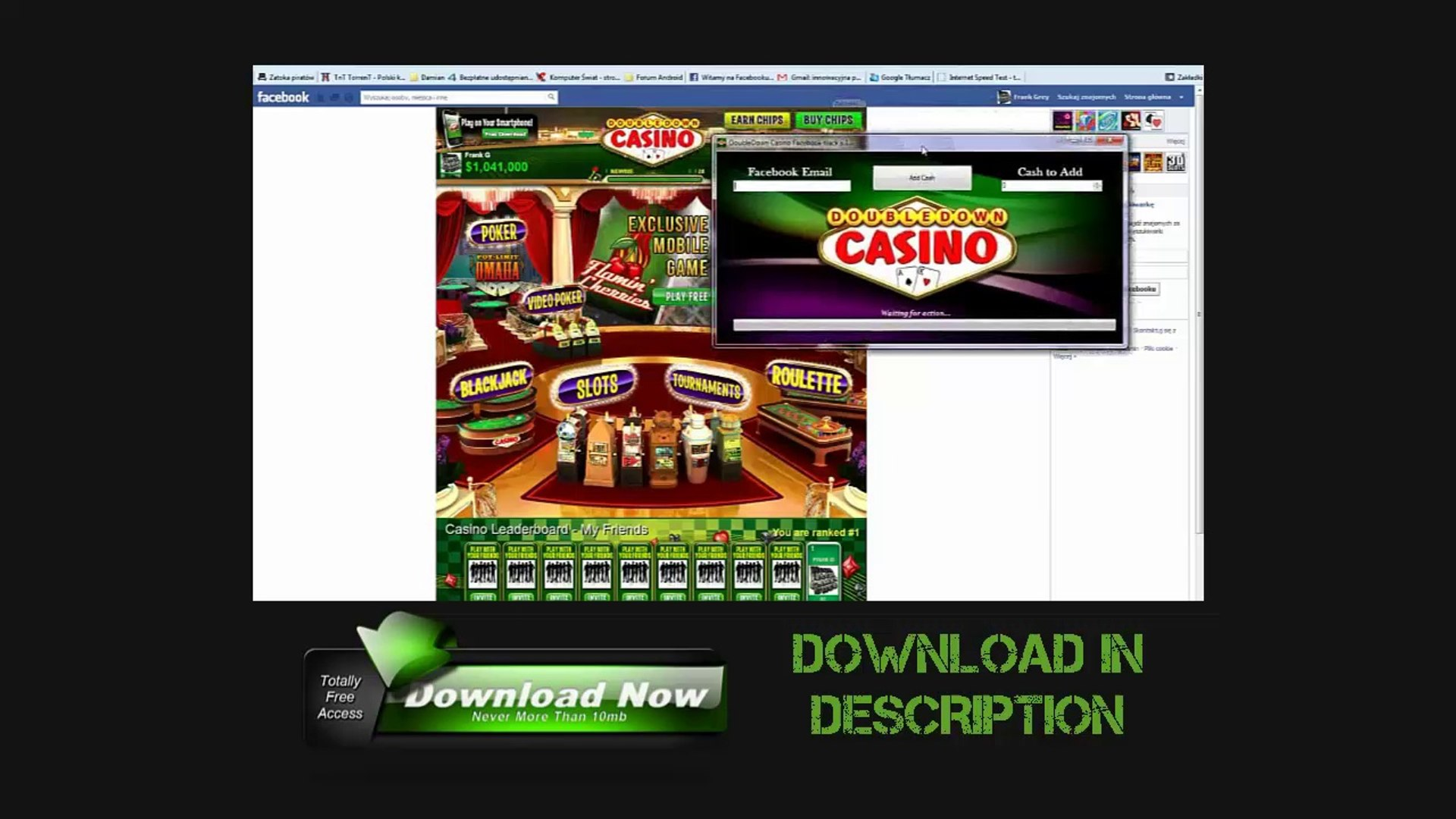1 million free doubledown casino chips today