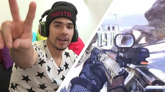 Louis Smith Plays Call Of Duty