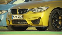 The new BMW M3 Sedan and BMW M4 Coupe Exterior Design