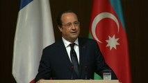 Discours du président de la République au Forum Economique de Bakou - Azerbaïdjan
