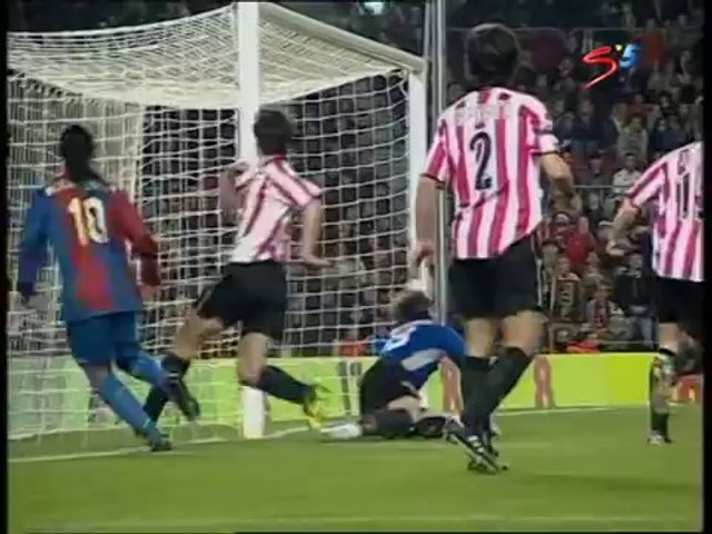 Ronaldinho Show vs Athletic Bilbao Feb 2007