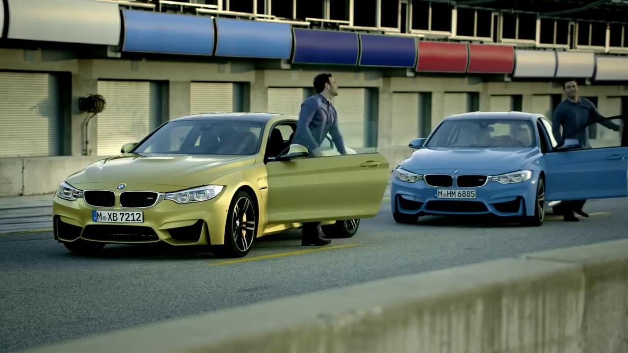 New BMW M3 vs BMW M4