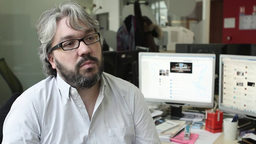 MOOC Journalisme Interview du SME de l'AFP, Gregoire Lemarchand