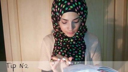 Back to school Hijab tutorial + hijab tips