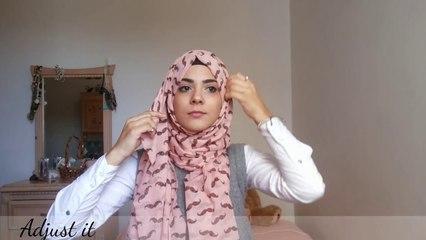 The Bow Tie Hijab Tutorial